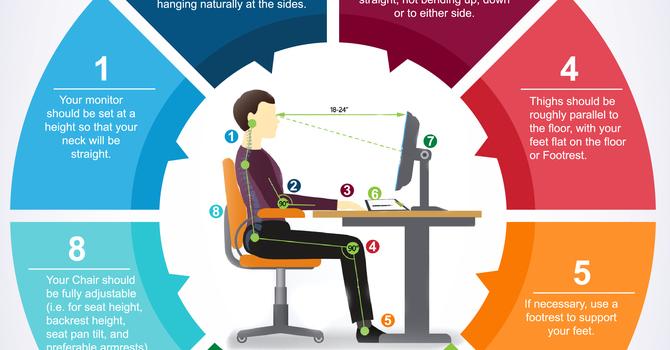 Ergonomic Desk Setup image