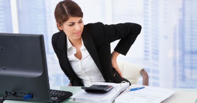 Keep your Back Healthy at Work! image