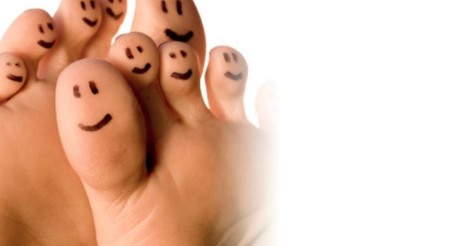 Foot Specialist approved pedicure image
